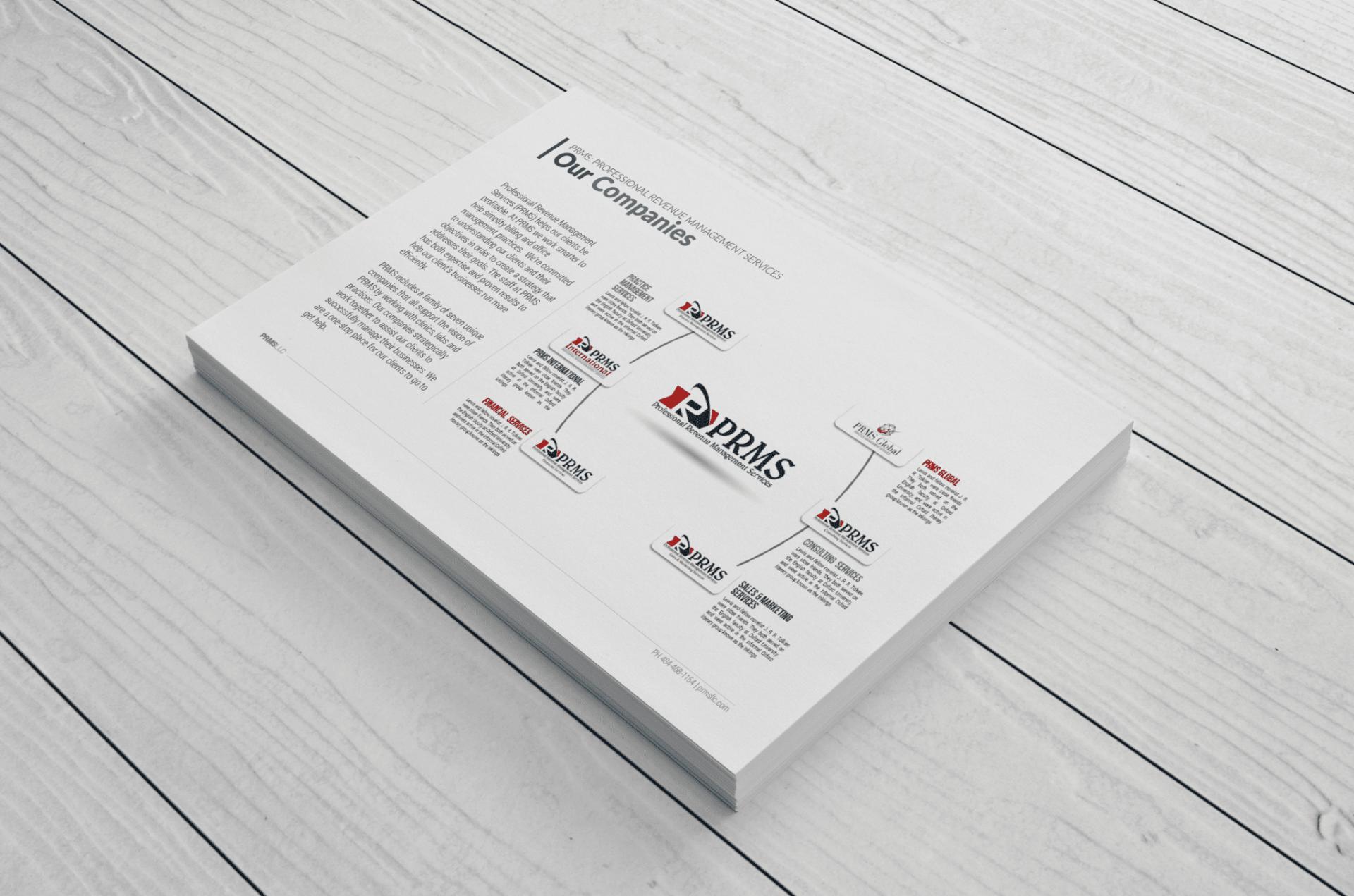 prms global BRANDING NO. 2 – Adoublem Management Solutions